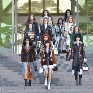 Kyoto: Louis Vuitton's Cruise '18 show