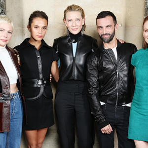 Paris Fashion Week Spring/Summer '18: Louis Vuitton front row