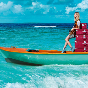Louis Vuitton unveils its new tropical campaign for Spring/Summer 15