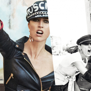 First look: Moschino's fierce new campaign