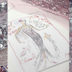 The making of Lily Allen's Chanel Haute Couture dress for the Bal de la Rose