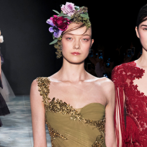 New York Fashion Week: Marchesa Fall/Winter '17