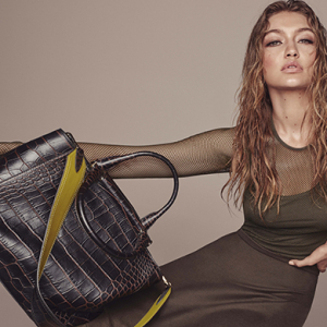 Gigi Hadid fronts Max Mara's Fall/Winter '16 accessories campaign