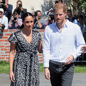 The Duke and Duchess of Sussex have officially started their royal tour