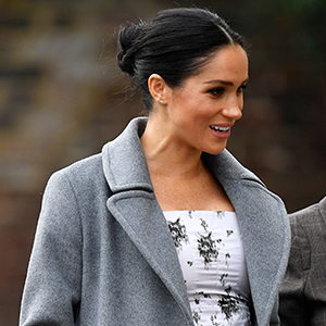 Meghan Markle steps out on her second solo engagement