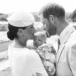 The Duke and Duchess of Sussex christened their baby boy and the images are just adorable