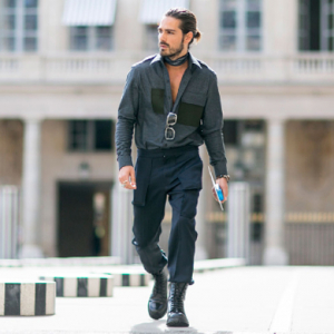 Men's RTW Paris Fashion Week: Street style part 1