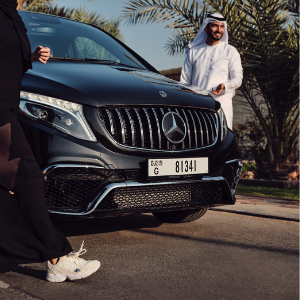 There's a new limited edition Mercedes-Benz MPV made exclusively for UAE