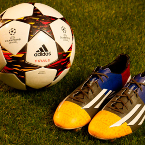 Adidas unveils new football boots for Lionel Messi