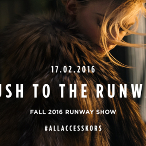 Live streaming: Michael Kors Fall/Winter '16 New York Fashion Week