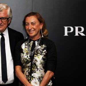 Miuccia Prada Bianchi and Patrizio Bertell are being investigated by Italian tax authorities