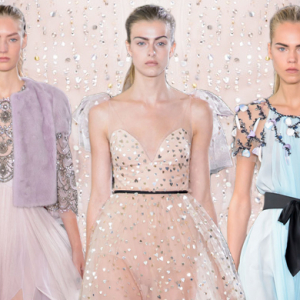 New York Fashion Week: Monique Lhuillier Spring/Summer '17