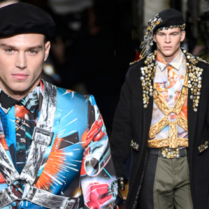 Men's Milan Fashion Week: Moschino Fall/Winter '17