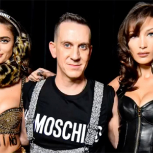 Basically every major model walked in the H&M x Moschino fashion show
