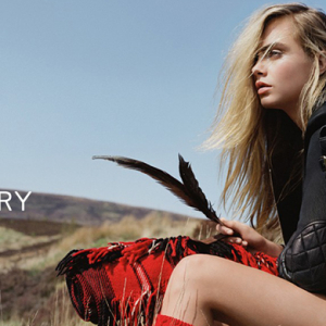 First look: Cara Delevingne in Mulberry's new AW14 campaign