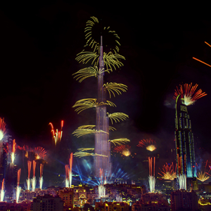 Dubai leads the top five haunts to have New Year