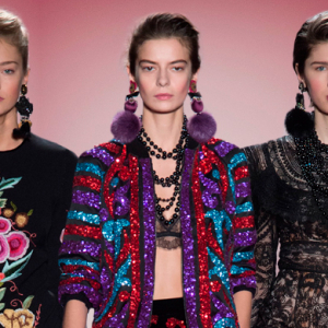 New York Fashion Week: Naeem Khan Fall/Winter '17