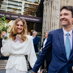 Natalia Vodianova and Antoine Arnault tie the knot