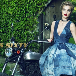 Blast from the past: Natalia Vodianova fronts Miss Sixty campaign