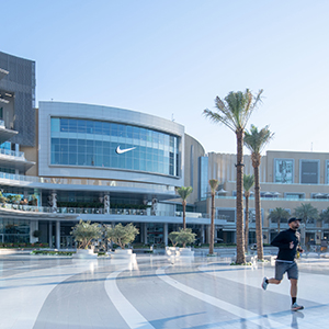 Nike opens its largest store in the Middle East