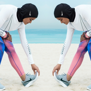 Launching soon: The Nike Pro hijab