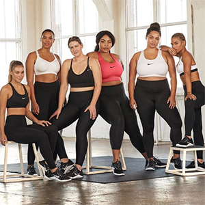Nike are channelling diversity with a brand new display
