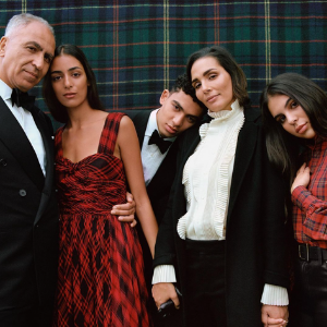 Nora Attal and her family star in a new Ralph Lauren campaign