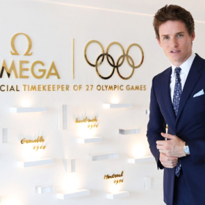 Eddie Redmayne inaugurates the Omega House in Rio