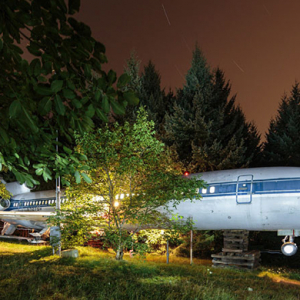 The Boeing 727 home