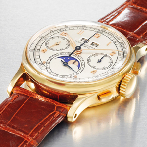 Christie's will auction off this royal-owned timepiece during its Dubai Watch Auction...