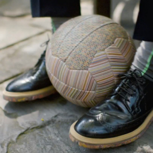 Paul Smith releases a limited edition striped football