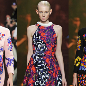 London Fashion Week: Peter Pilotto Autumn/Winter 14