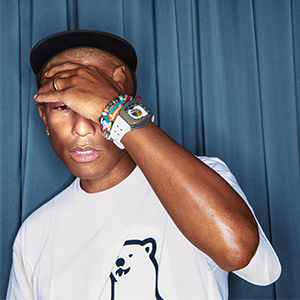 Richard Mille collaborates with Pharrell Williams on RM 52-05 Tourbillon