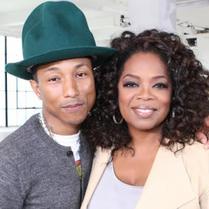 Pharrell's emotional interview with Oprah