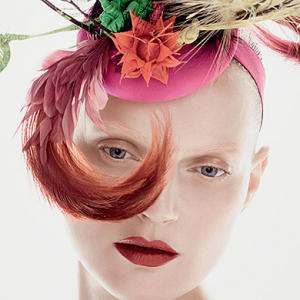 Milliner Philip Treacy teams up with MAC for a new collection