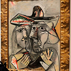 The first Picasso exhibition in Lebanon is finally open