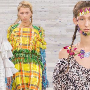 London Fashion Week: Preen by Thornton Bregazzi Spring/Summer '17