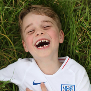 Kensington Palace shares new photos of Prince George to celebrate his sixth birthday