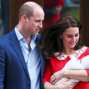 Prince William and Kate Middleton reveal name of new son
