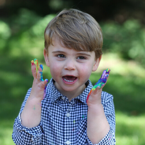 Kate Middleton photographs Prince Louis for birthday portraits