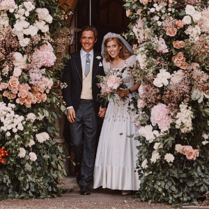 Here are all of the details of Princess Beatrice's vintage wedding dress