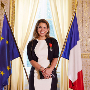 Dubai's Princess Haya receives France's highest honour