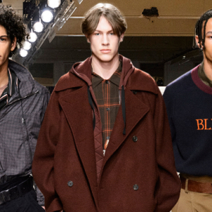 Men's London Fashion Week: Qasimi Fall/Winter '18