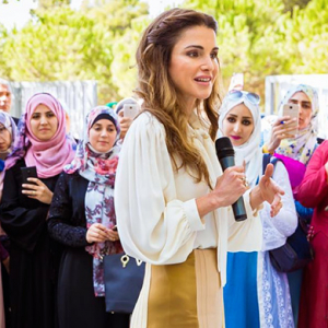 Phase one: Queen Rania launches Jordan's new educational program