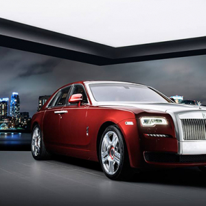 A Saudi exclusive: The Rolls-Royce Ghost Red Diamond