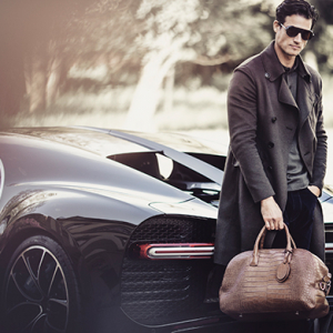 Giorgio Armani x Bugatti: Fashion on the fast lane