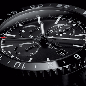 Breitling introduces the new Chronoliner Blacksteel