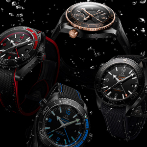 Black beauty: OMEGA Deep Black collection
