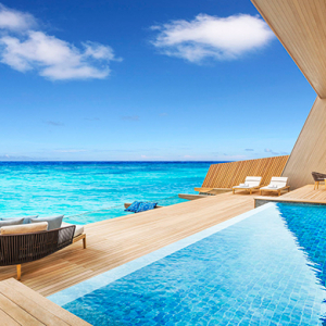 Opening soon: The St.Regis Maldives Vommuli Resort