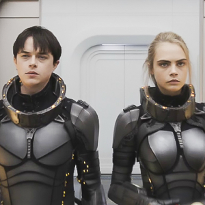 Girl power: Cara Delevingne battles aliens in trailer for new movie